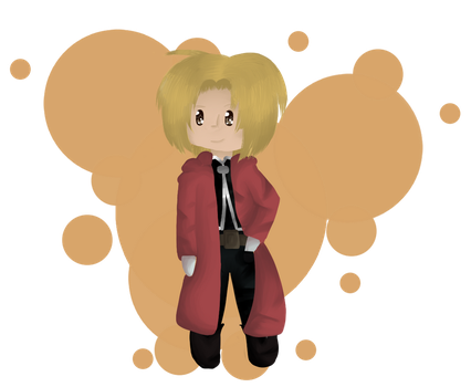 PC - Edward Elric - Detective-MAY by PikaPauline