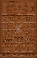 Knock on Wood by Flich