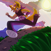 Point Commission :: Running from the Sun by TwistedZepher