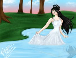 She Loves the Water by SassyLilPanda