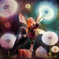 Aine the Fairy Queen by kaleighadams