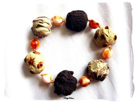 Chocolate Ice Cream Bracelet by Cateaclysmic