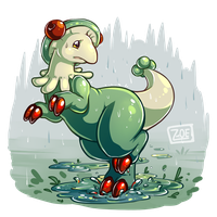 PokeddeXY - Breloom by oddsocket