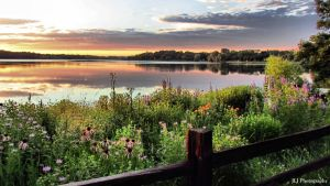 Evening Time Along Lake Phalen by UvGirl