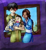 Zutara week: Family by sushy00