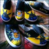 Pokemon FANART Shoes by MadCandies