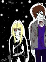 Taxyn and no name guy, my oc's by thunderstarcreator