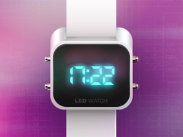 LED WATCH icon :) by Ampeross