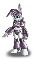 Metal bunnie design by zeiram0034