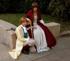 D'Eon and Lia, Still Together. by MeiCosplay