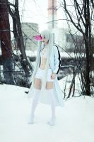 White Rock Shooter cosplay by Push-sama