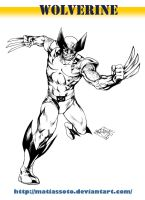 Wolverine classic by MatiasSoto