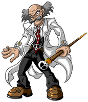 Dr. Wily by JusteDesserts
