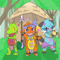 Commission: The Tribe by Bluekiss131