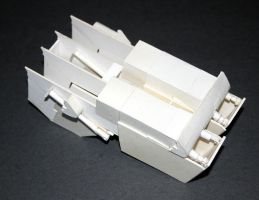 AT-AT Barge Paper Model 6 by SatchelMarr
