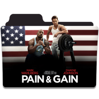 Pain and Gain Folder Icon by efest