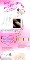 How to color skin (for beginners) by ladyhollow626