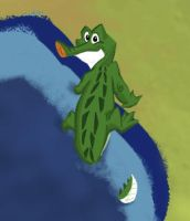 A Little Gator Doodle by Cre8tivemarks