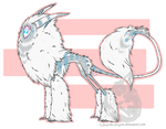 Cicero!!! My Polar Lisk by Jeep-The-Dragon