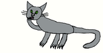 GRAY CAT FOR GIGABRUNO ON LISTIA by DEVIOUS-DISCORD-RP