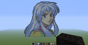 Eirika Minecraft by slygirl1999