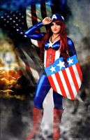 Captain 'Murica by KylieLaRee