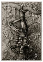 Tarot: Hanged Man by Carhven