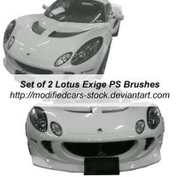 Lotus Exige Photoshop Brushes by ModifiedCars-stock