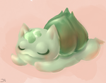 Bulbasaur 1 by Thrash-san9