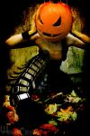 Pumpkin Head by Winged-Creations