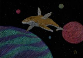Space Whale by Arabidopsis