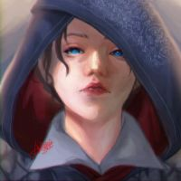 Assassin's Creed Evie Frye by dhinyan