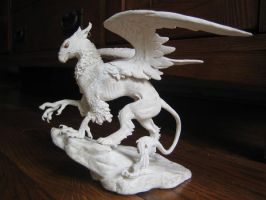 griffon sculpture 1 by dancing-dragon