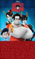 Wreck-It Ralph Troll Poster by Angie-Andrea