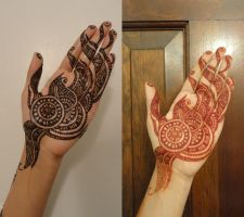 Aug 2011 Eid Henna by A-w0man