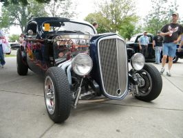 hot rod chevrolet by TyphlosionsKingdom