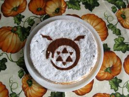 fma: Oroboro cake by white-dragon-freya