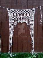 Macrame Curtain by laceypatt