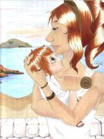 APH: Ancient Greece with child by Natsuko-Midori