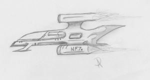 A Nexus Flier (Concept) by ADDaughtry