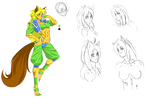 Mell redrawn by Shen-fn-Woo