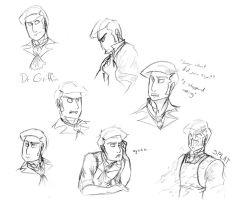 The Man: sketches by Assassin-or-Shadow