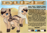 Reference : Dune by SolarGem