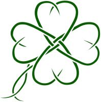 Celtic clover tatto design by seanroche