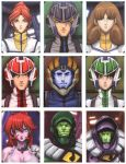 Robotech Character Screens by UdonCrew
