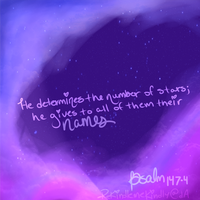 He gives to all of them their names. by Sunniesaurus