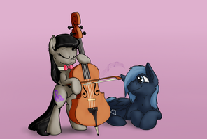 Octavia and Orion by Scruffasus