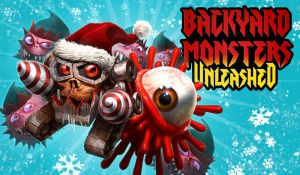 Backyard Monsters Xmas Key Art by DNA-1