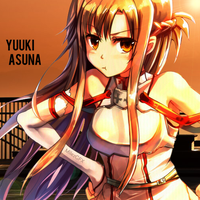 Sword Art Online - Yuuki Asuna Avatar by shadowmilez