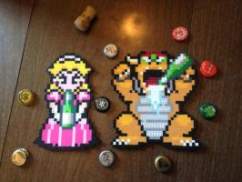 Peach and Bowser - Party Hard by HaleysRedComet